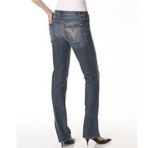 7 For All Mankind Kate straight leg jeans 27